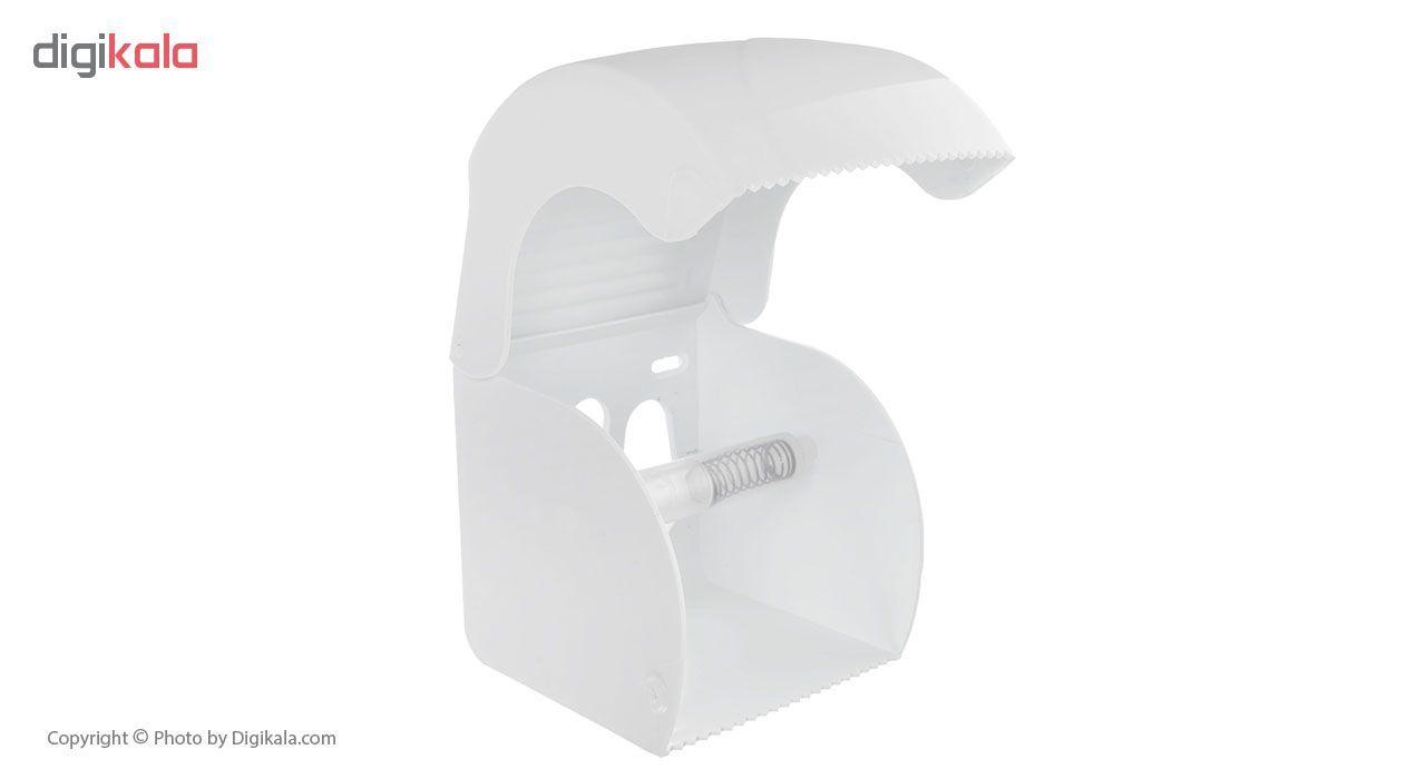 جای دستمال توالت سنی پلاستیک مدل Madis 4407 main 1 3