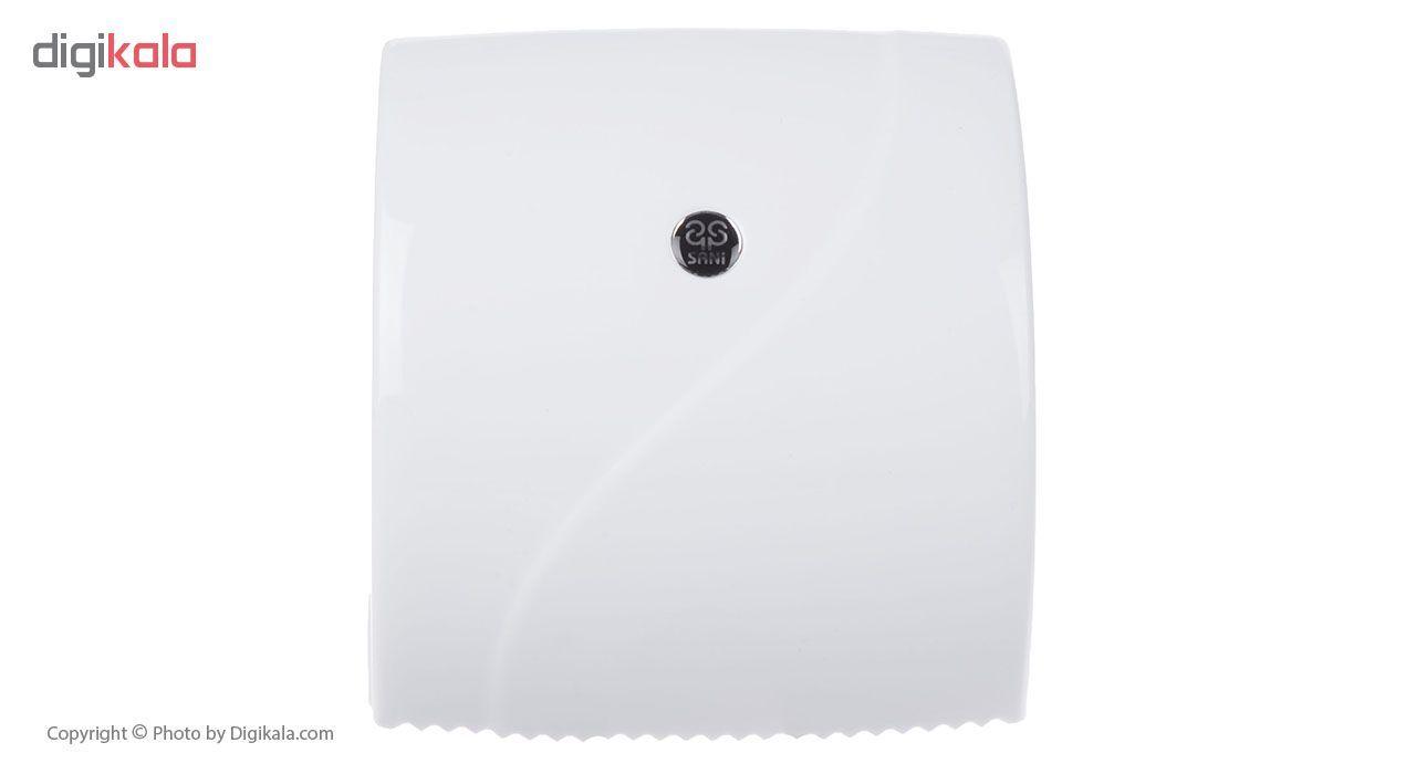 جای دستمال توالت سنی پلاستیک مدل Madis 4407 main 1 4