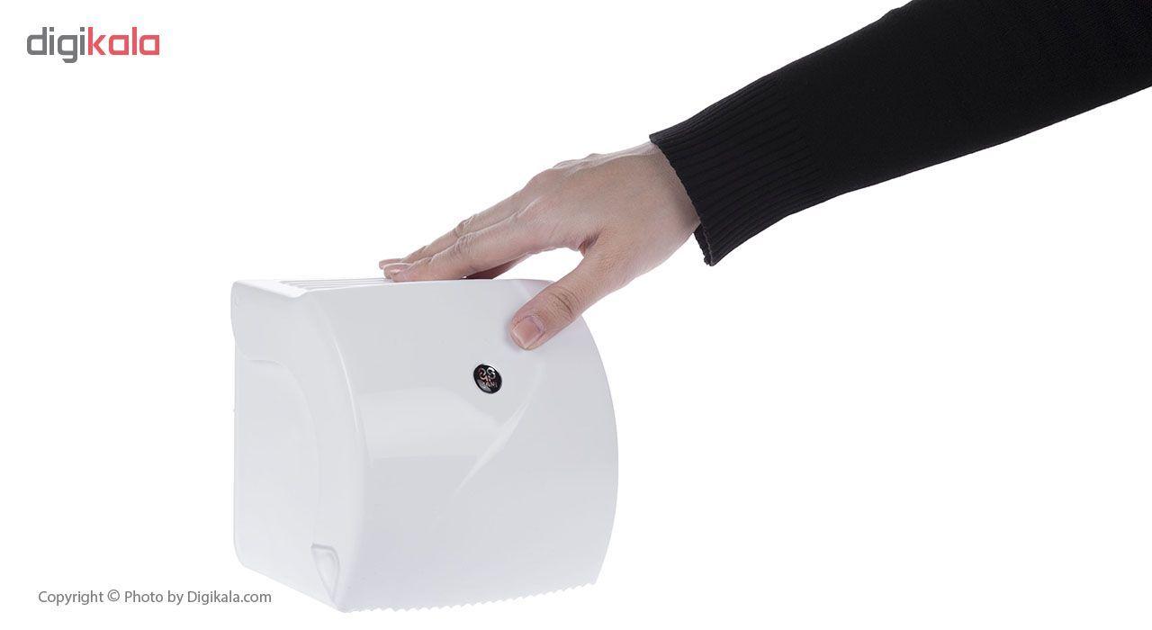 جای دستمال توالت سنی پلاستیک مدل Madis 4407 main 1 6