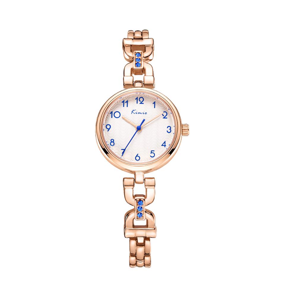 ساعت مچی عقربه ای زنانه کیمیو مدل K6202S رنگ رزگلد 46
