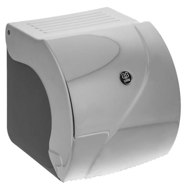 جای دستمال توالت سنی پلاستیک مدل Madis 4408