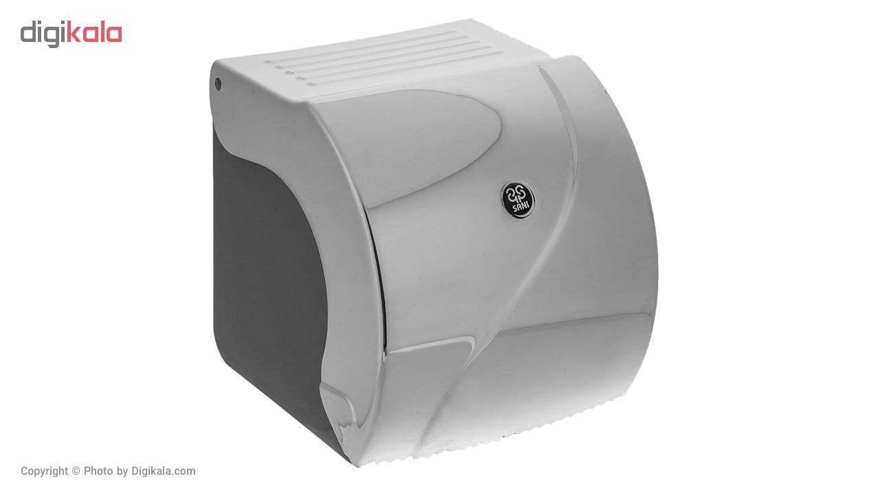 جای دستمال توالت سنی پلاستیک مدل Madis 4408 main 1 1