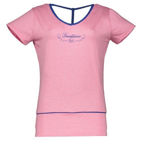 تی شرت ورزشی زنانه درفش مدل 1231103-8758