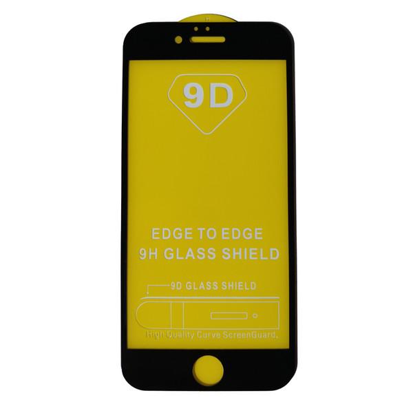 محافظ صفحه نمایش مدل 9D مناسب برای گوشی موبایل اپل آیفون 6