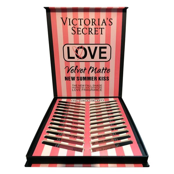 رژلب مایع ویکتوریا سکرت مدل Love مجموعه 24 عددی