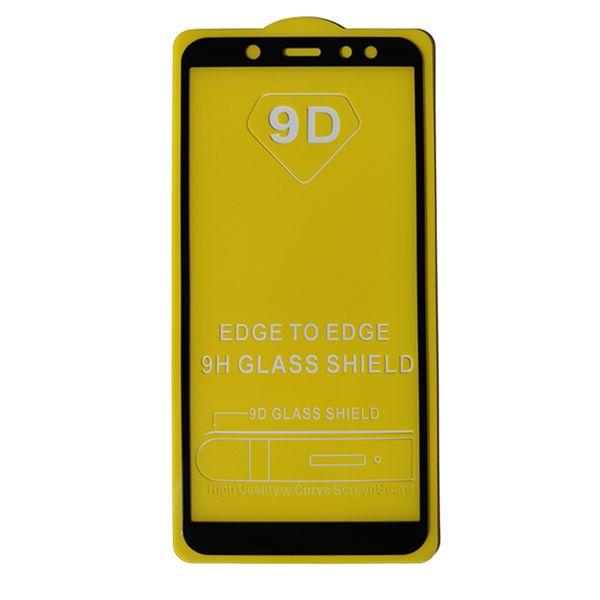 محافظ صفحه نمایش مدل 9D مناسب برای گوشی موبایل سامسونگ A6 2018