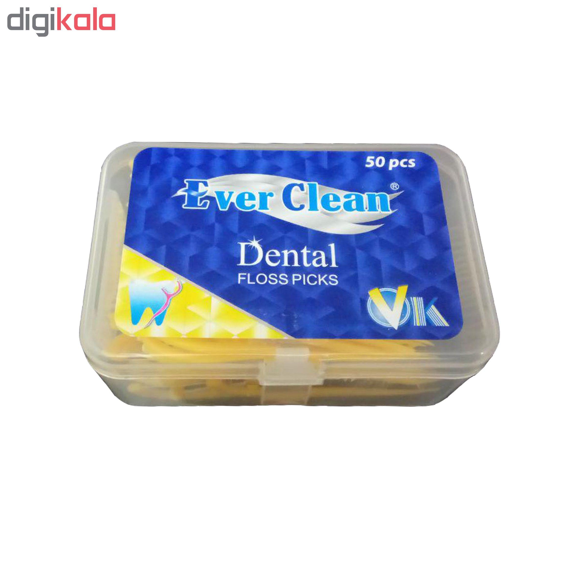 نخ دندان اورکلین مدل 01 بسته 50 عددی
