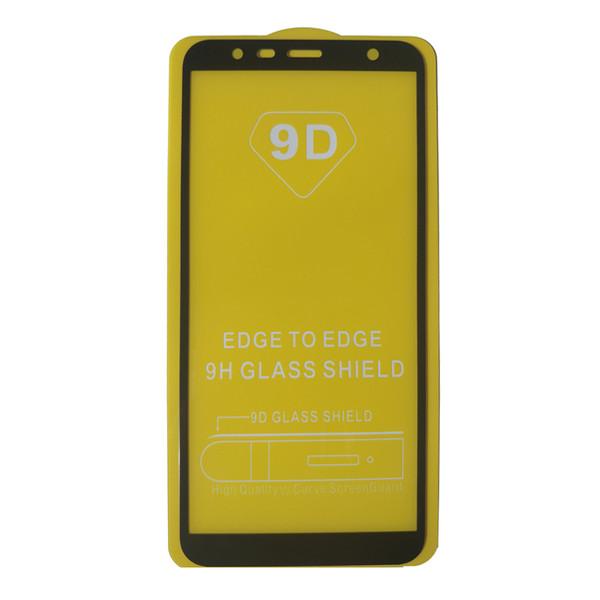 محافظ صفحه نمایش مدل 9D مناسب برای گوشی موبایل سامسونگ J4 2018 پلاس