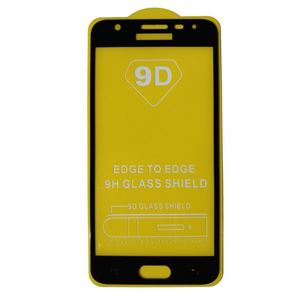 محافظ صفحه نمایش مدل 9D مناسب برای گوشی موبایل سامسونگ J5 پرایم