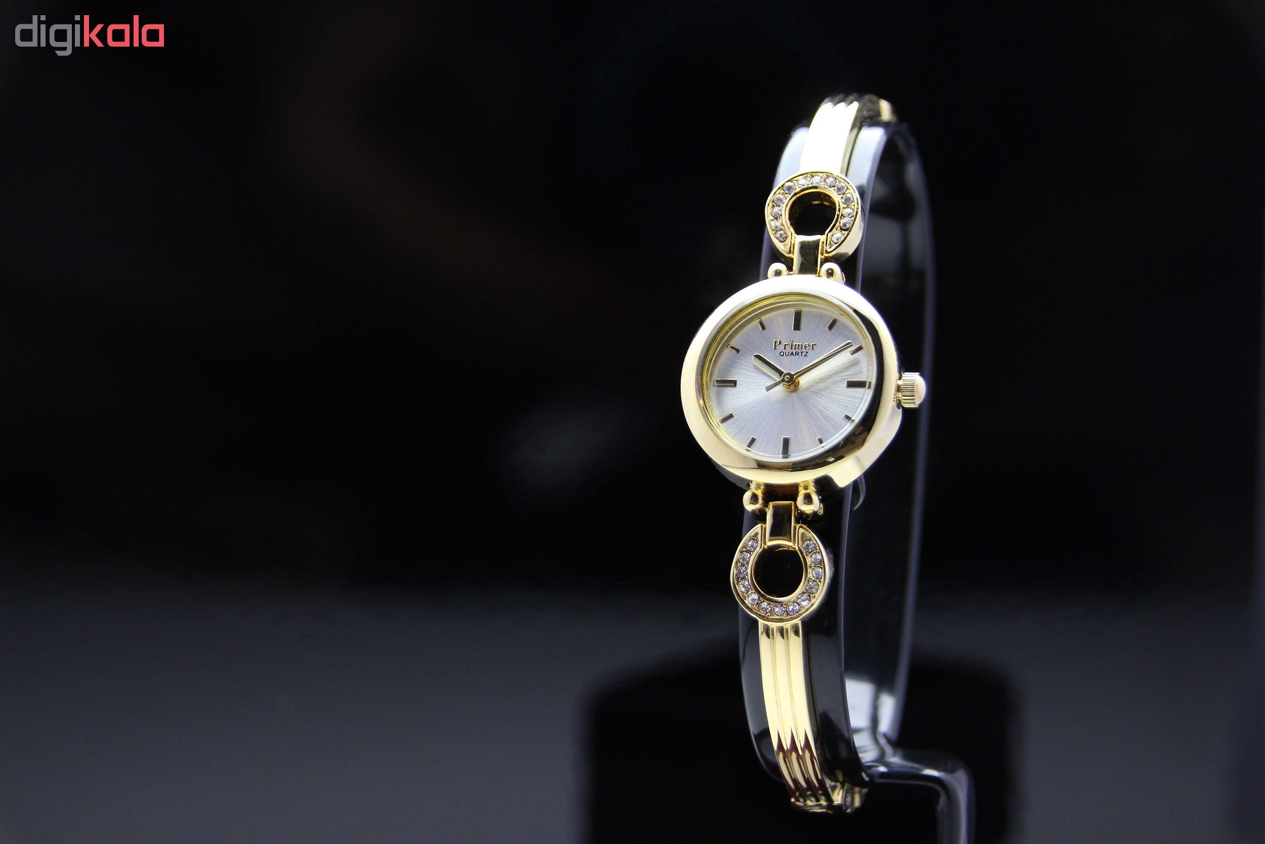 ساعت مچی عقربه ای زنانه پرایمر مدل MO-032-SS              ارزان