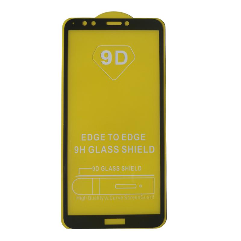 محافظ صفحه نمایش مدل 9D مناسب برای گوشی موبایل هوآوی Y7 پرایم 2018