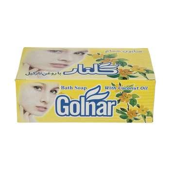 صابون گلنار مدل زرد بسته 6 عددی