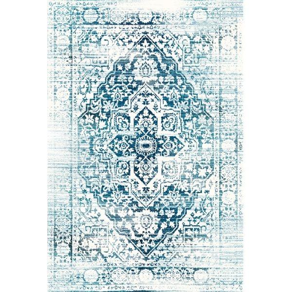 فرش ماشینی فرش ابریشمی کرامتیان طرح آرتینه کد 5995
