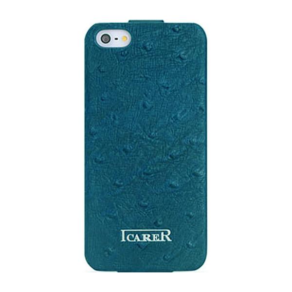 کاور کلاسوری ایکارر مدل Fake Ostrich مناسب برای گوشی موبایل اپل آیفون 5/5s/SE