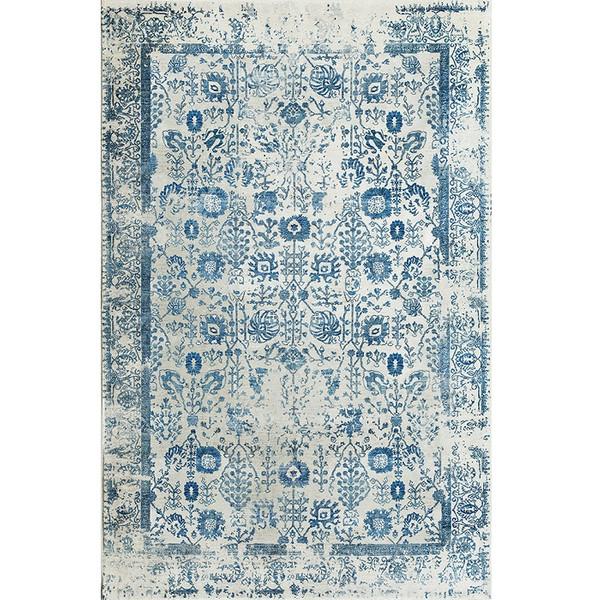 فرش ماشینی فرش ابریشمی کرامتیان طرح آرتینه کد 5994