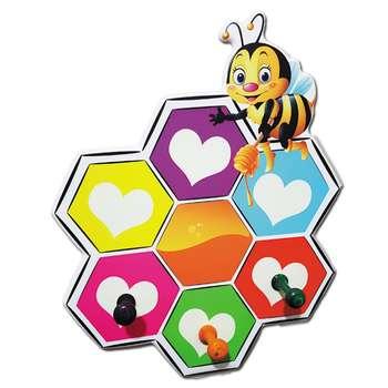چوب لباسی کودک مدل Honey Bee