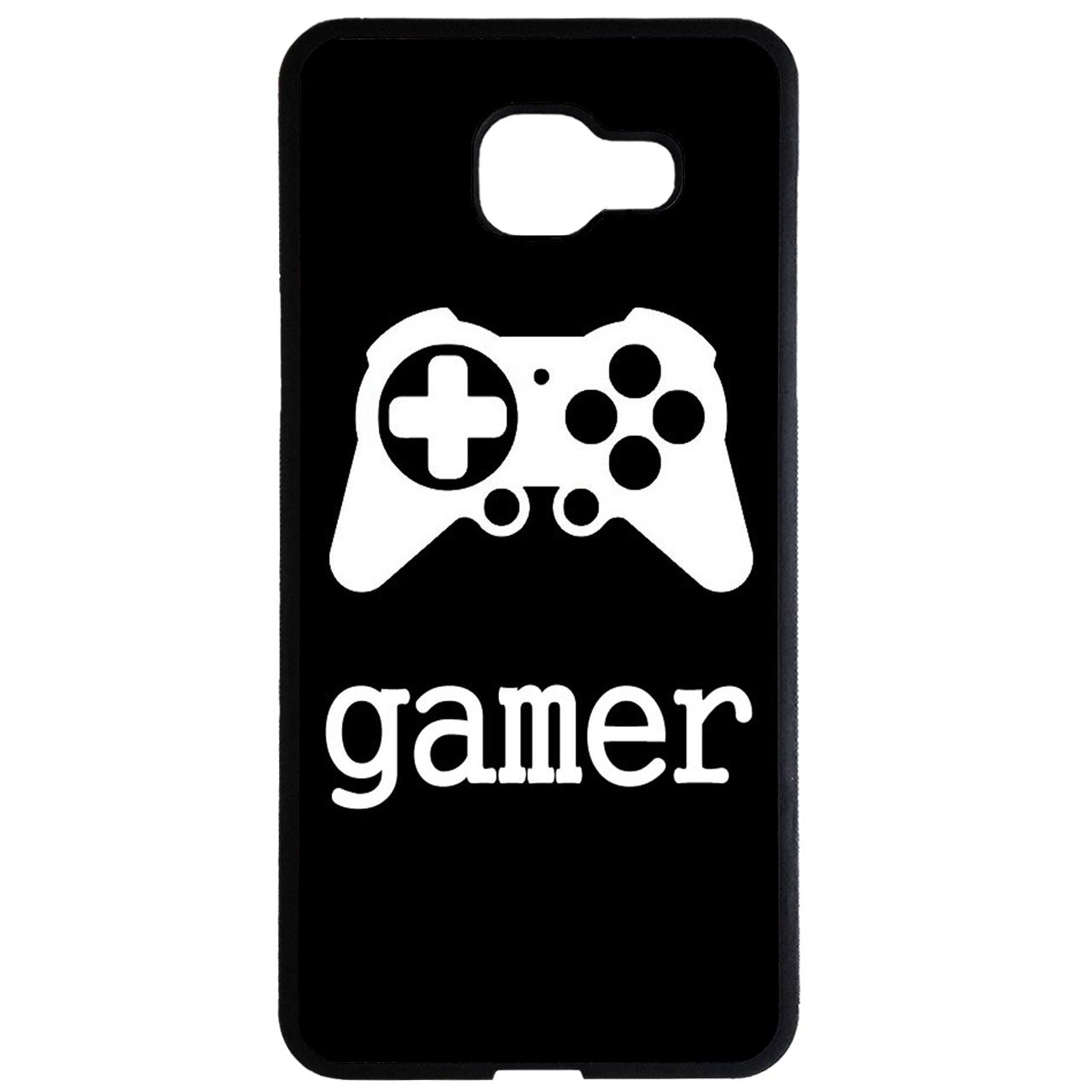کاور طرح gamer کد 1078 مناسب برای گوشی موبایل سامسونگ galaxy a7 2016