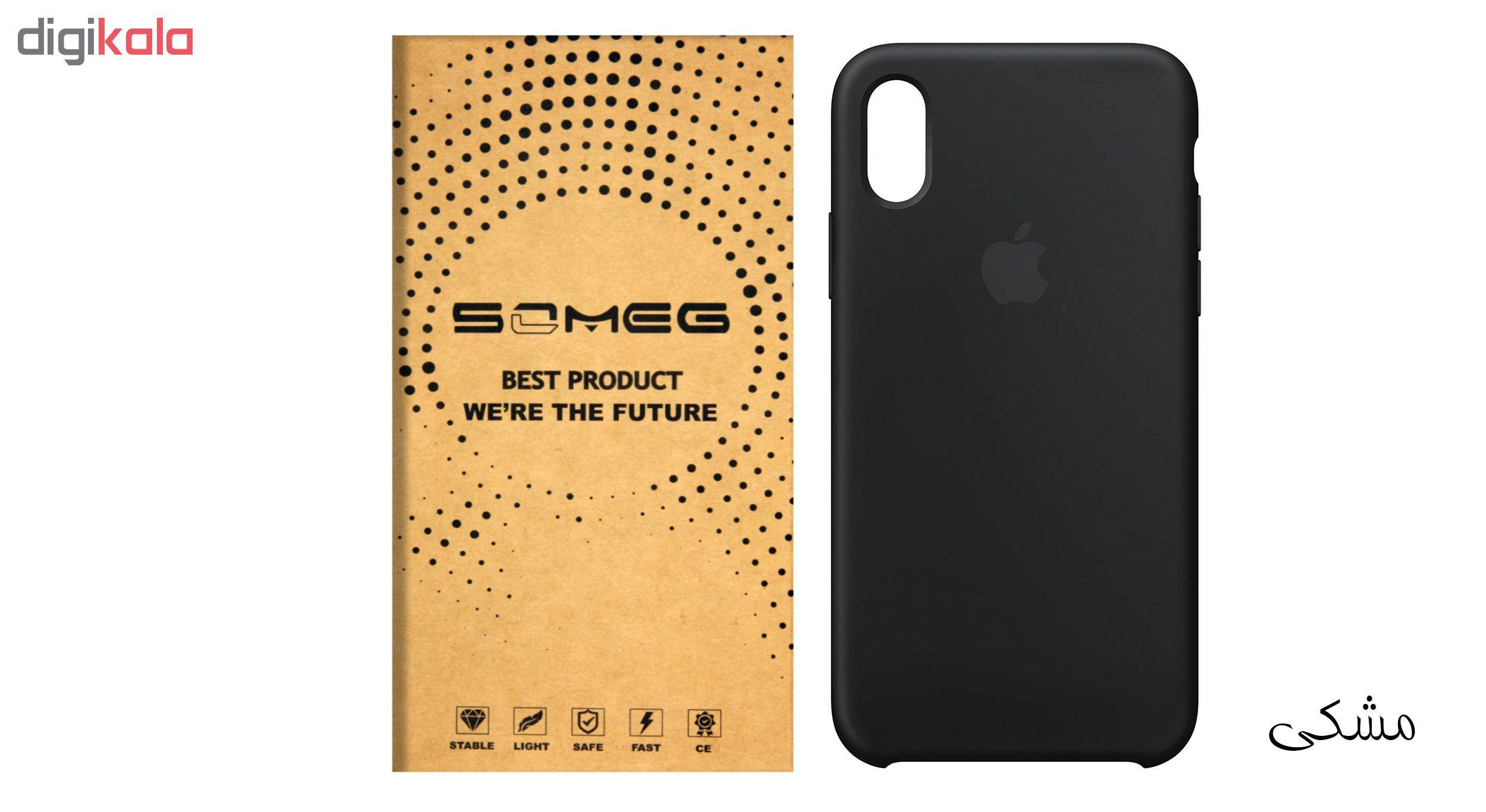 کاور سیلیکونی سومگ مدل 006 مناسب برای گوشی موبایل آیفون 10 main 1 5