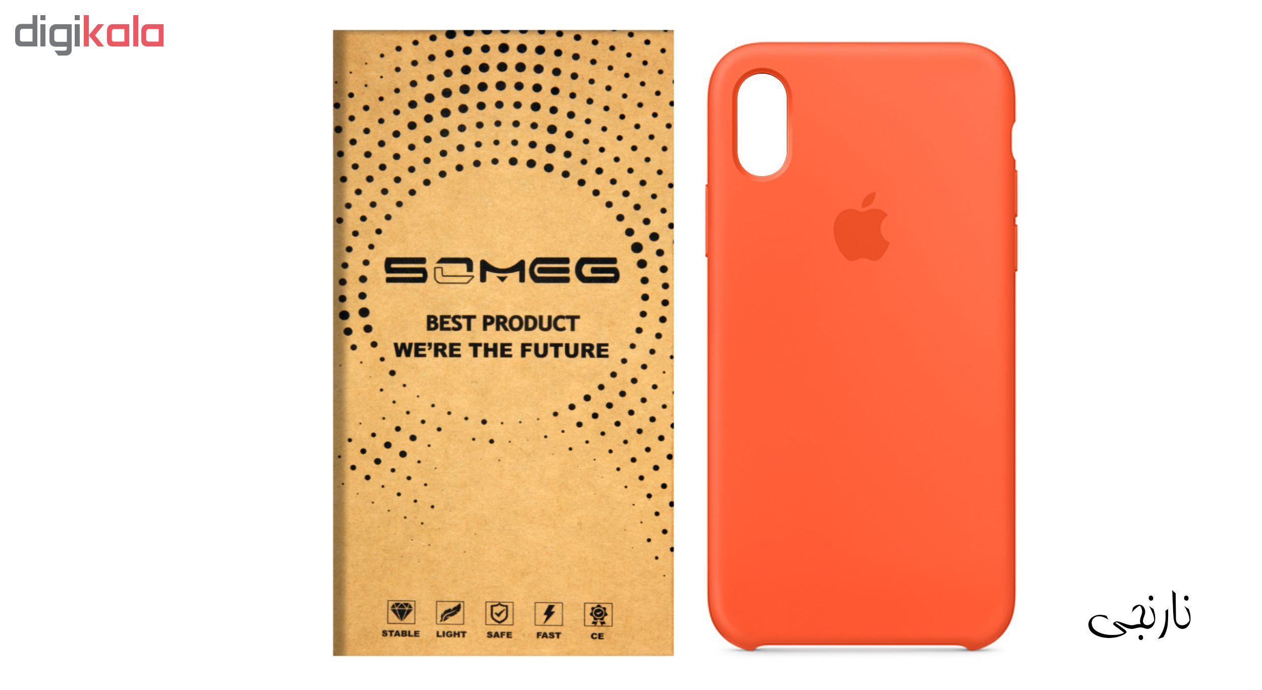 کاور سیلیکونی سومگ مدل 006 مناسب برای گوشی موبایل آیفون 10 main 1 4