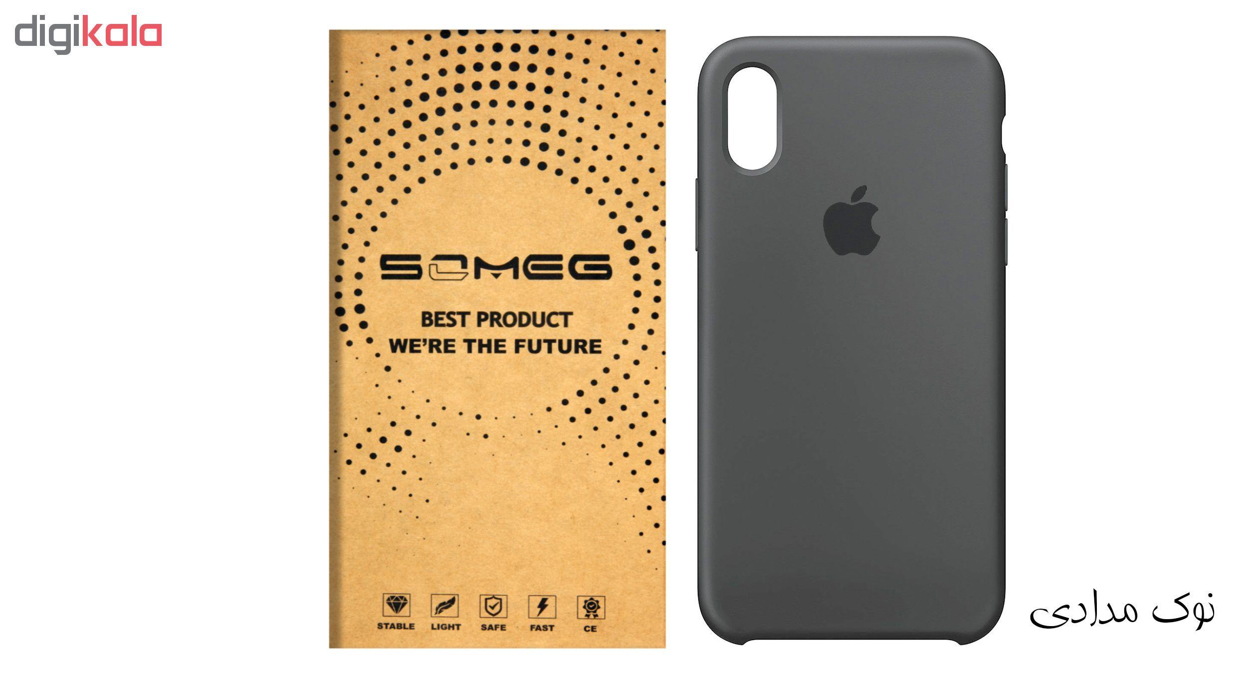 کاور سیلیکونی سومگ مدل 006 مناسب برای گوشی موبایل آیفون 10 main 1 2
