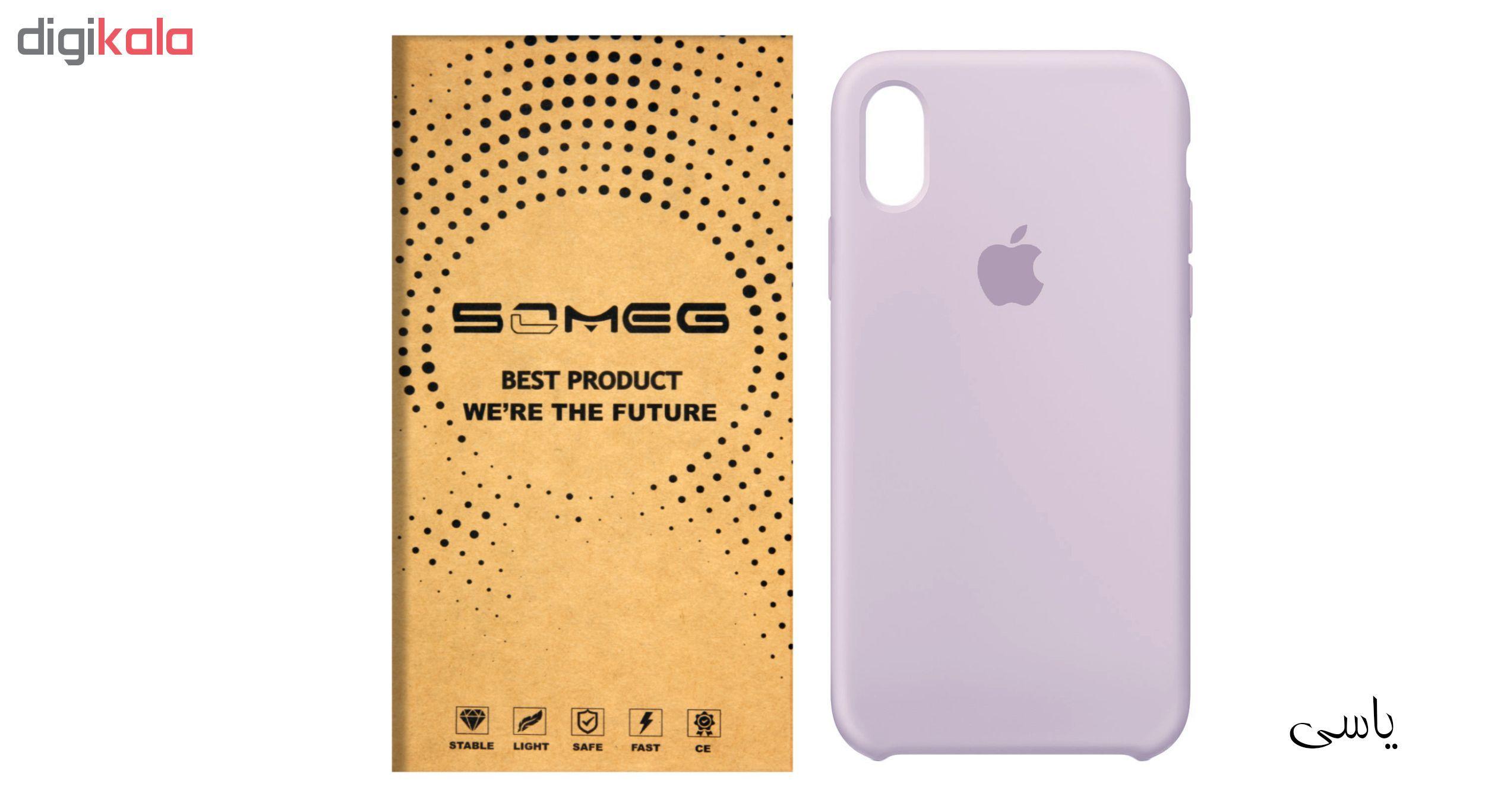کاور سیلیکونی سومگ مدل 006 مناسب برای گوشی موبایل آیفون 10 main 1 3