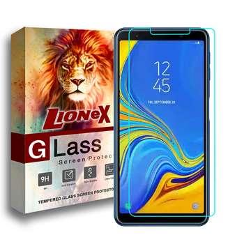 محافظ صفحه نمایش لایونکس مدل Ultra Powerful Shield مناسب برای گوشی موبایل سامسونگ Galaxy A7 2018