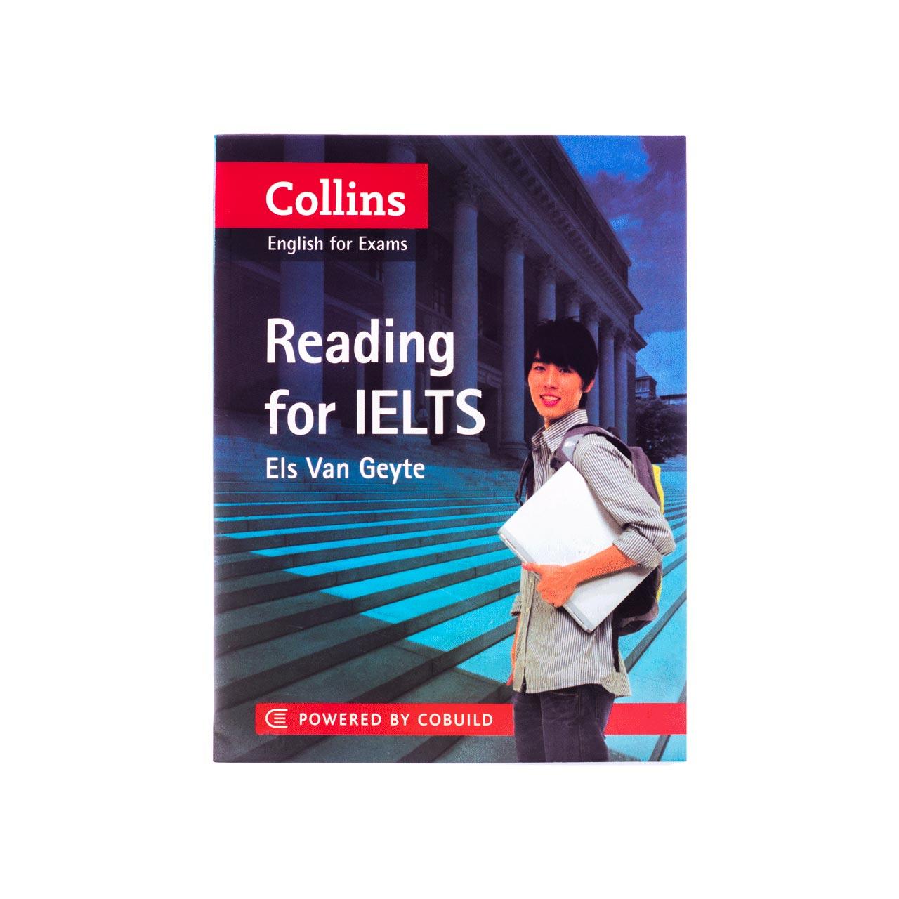 کتاب زبان Collins English for Exams Reading for Ielts انتشارات جنگل