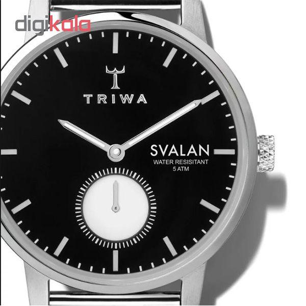 ساعت مچی عقربه ای تریوا مدل Ebony Svalan