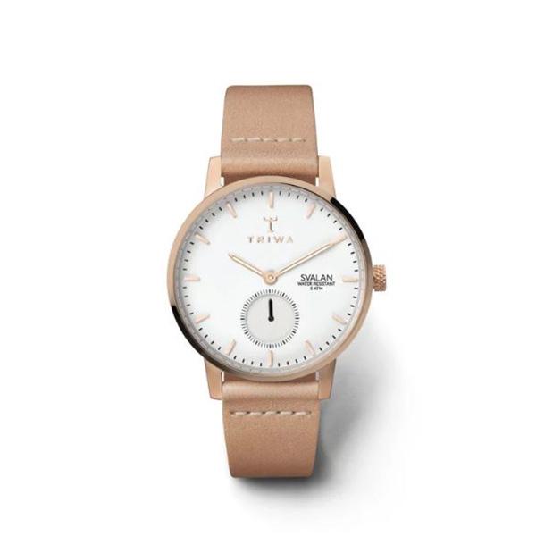 کد تخفیف                                      ساعت مچی عقربه ای زنانه تریوا مدل Rose Svalan