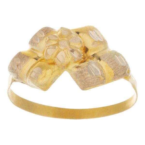 انگشتر طلا 18 عیار کد 108
