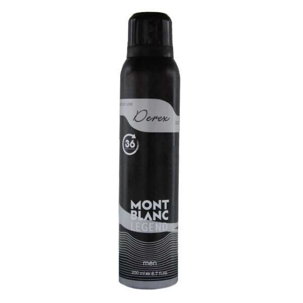 اسپری خوشبو کننده بدن مردانه دریکس مدل Mont Blanc Legend  حجم 200 میلی لیتر