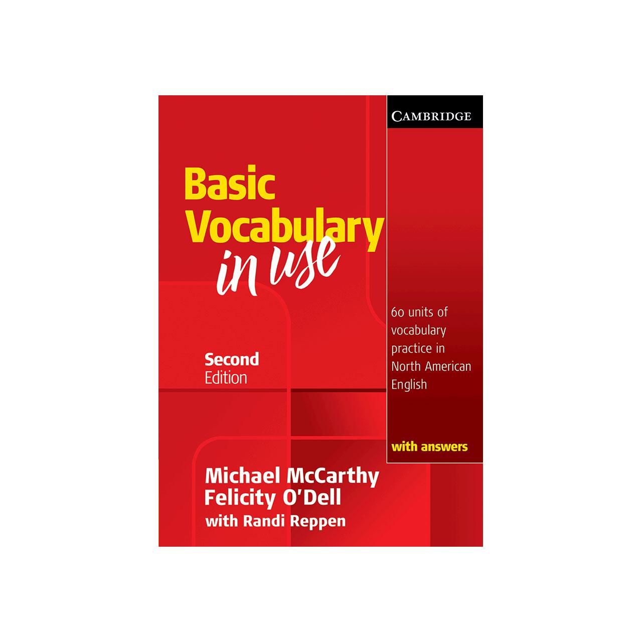 کتاب زبان Vocabulary in Use Basic 2nd انتشارات جنگل