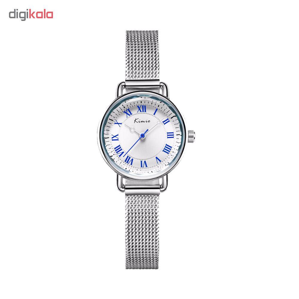 ساعت مچی عقربه ای زنانه کیمیو مدل K6213S رنگ نقرهای