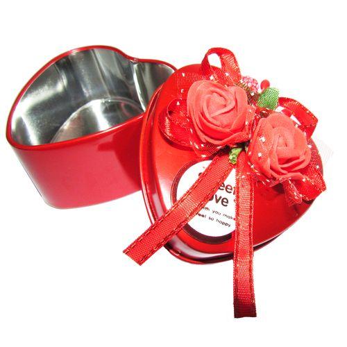 جعبه هدیه فلزی مدل SWEET LOVE  به همراه جا کلیدی برج ایفل