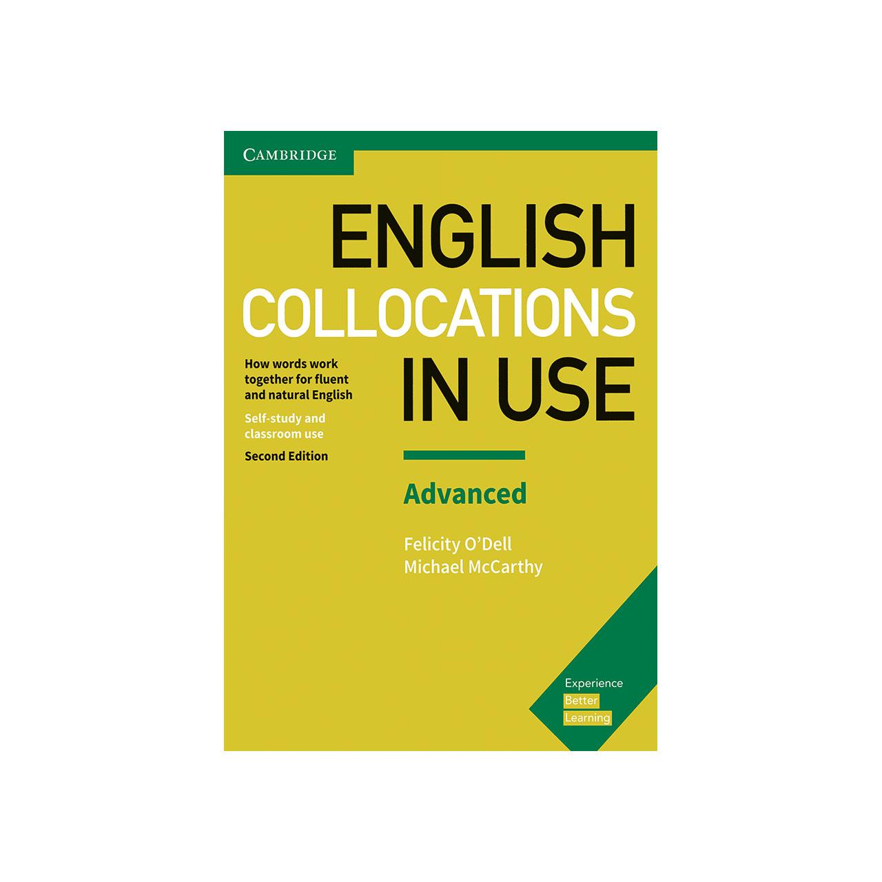 کتاب زبان Collocations in Use English 2nd Advanced انتشارات جنگل