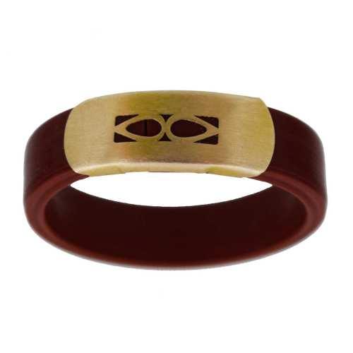 انگشتر مردانه طلا 18 عیار کانیار گالری مدل ACH9