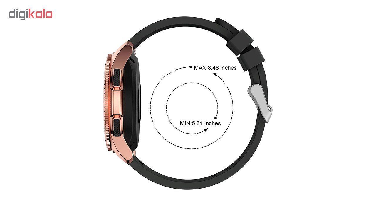 بند مدل Stripes مناسب برای ساعت هوشمند سامسونگ  Gear S2 Classic / Gear Sport / Galaxy Watch 42mm main 1 4
