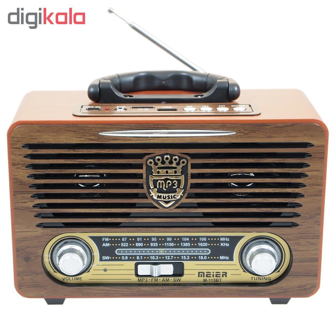رادیو مییر مدل M-115BT main 1 1