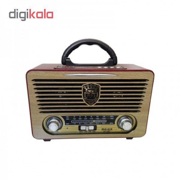 رادیو مییر مدل M-115BT main 1 4