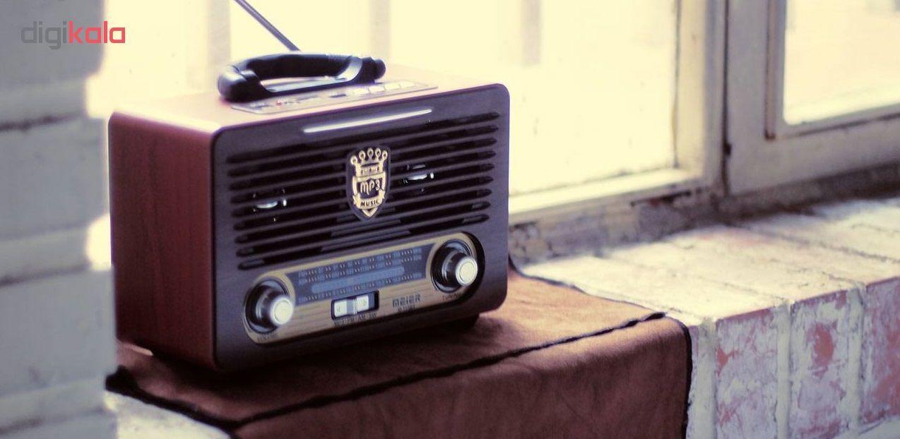 رادیو مییر مدل M-115BT main 1 5