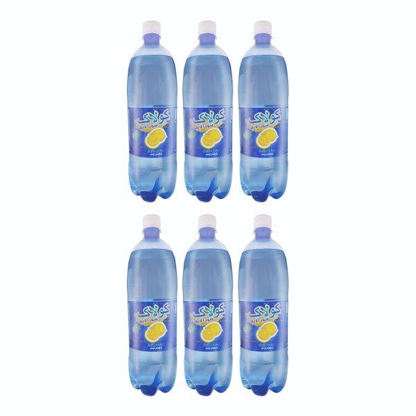 نوشیدنی سودا لیمویی کولاک - 1.5 لیتر بسته 6 عددی