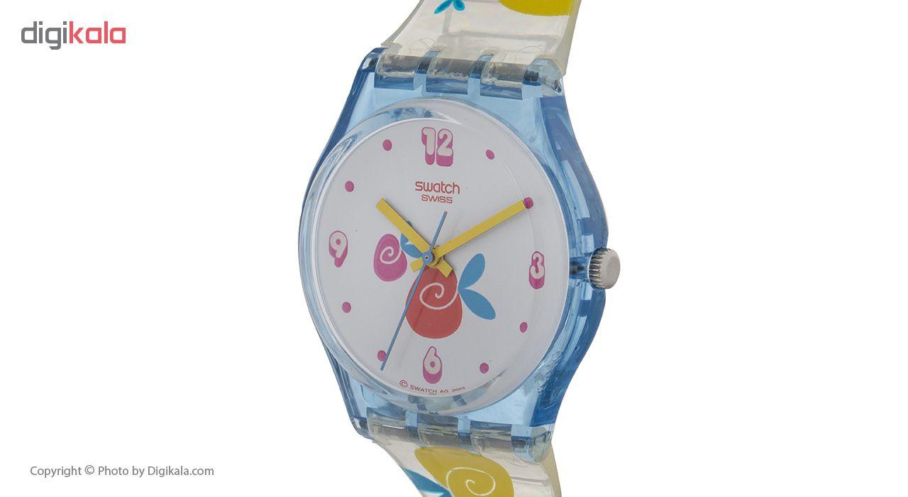 ساعت مچی عقربه ای زنانه سواچ مدل GS118