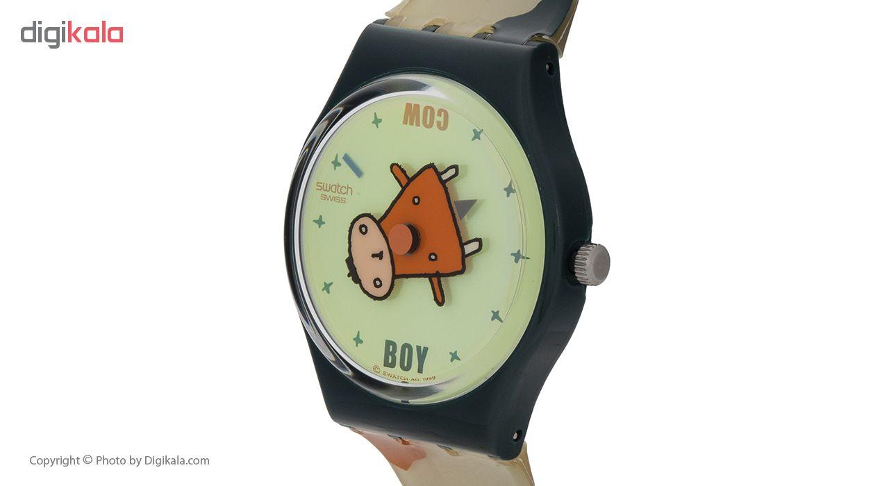 ساعت مچی عقربه ای بچگانه سواچ مدل GG187