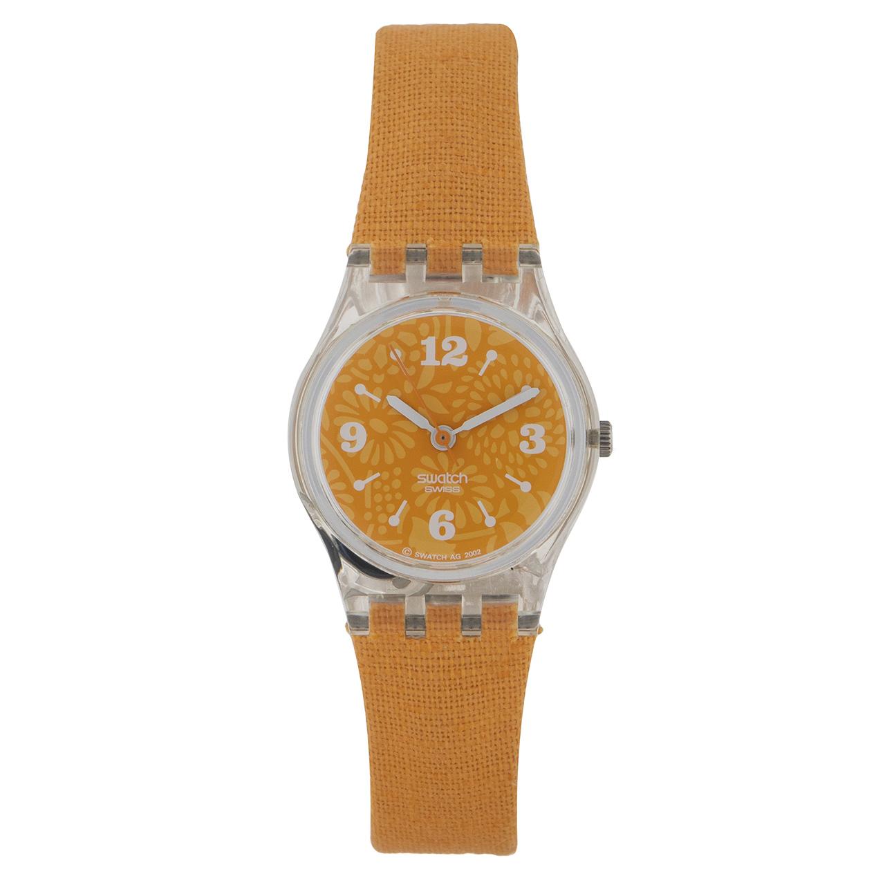 ساعت مچی عقربه ای دخترانه سواچ مدل LK220