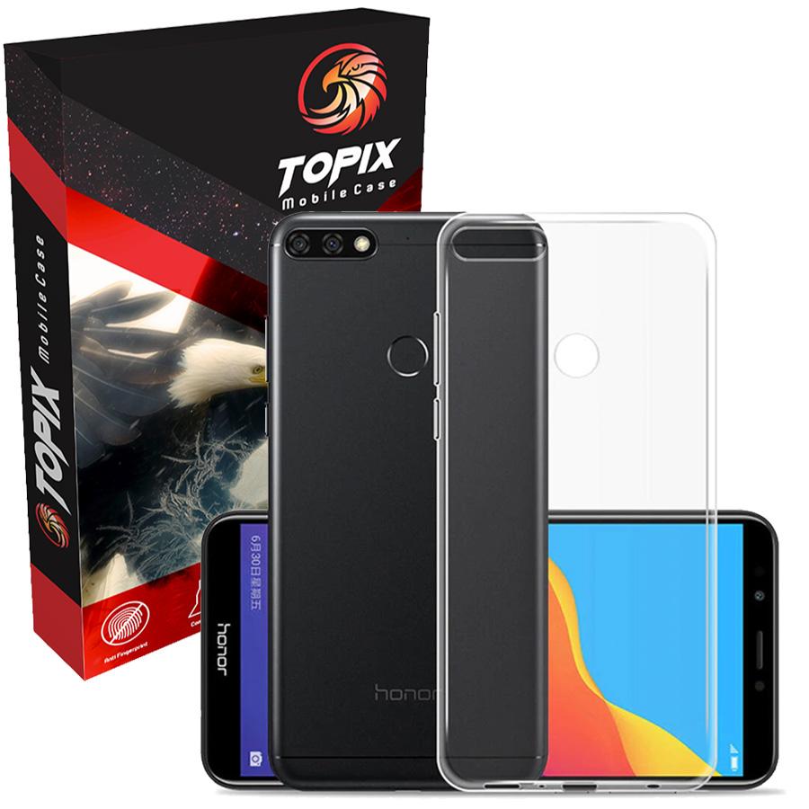 کاور تاپیکس مدل Clear Cover مناسب برای گوشی موبایل هوآوی Y 7 Prime 2018