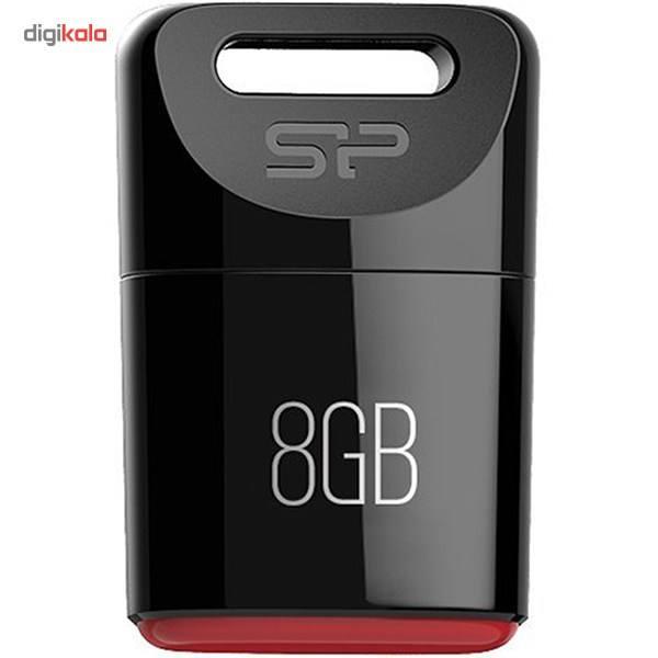 فلش مموری سیلیکون پاور مدل Touch T06 ظرفیت 8 گیگابایت  Silicon Power Touch T06 Flash Memory – 8GB
