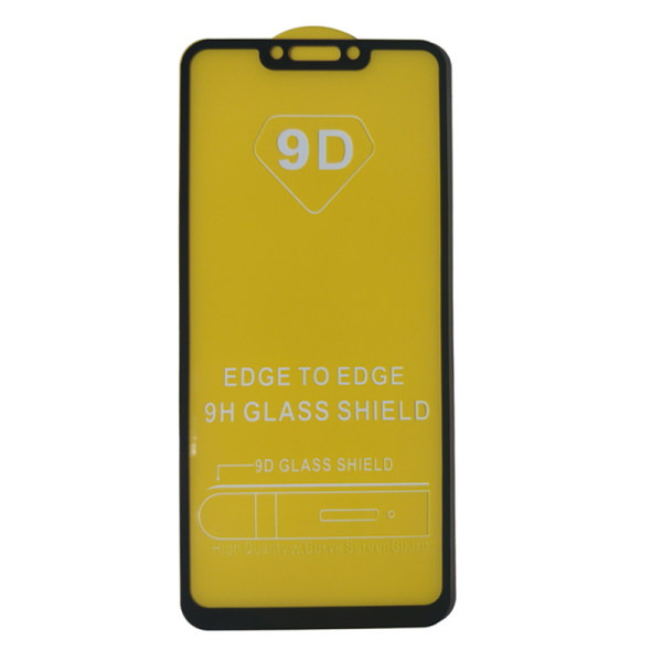محافظ صفحه نمایش مدل 9D مناسب برای گوشی موبایل هوآوی مدل میت 20 لایت