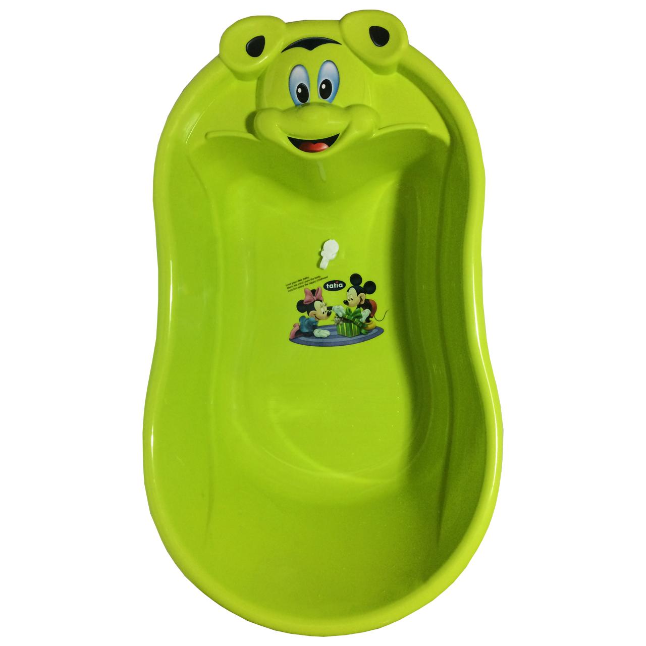 وان حمام کودک میکی سبز مدل PK-H177