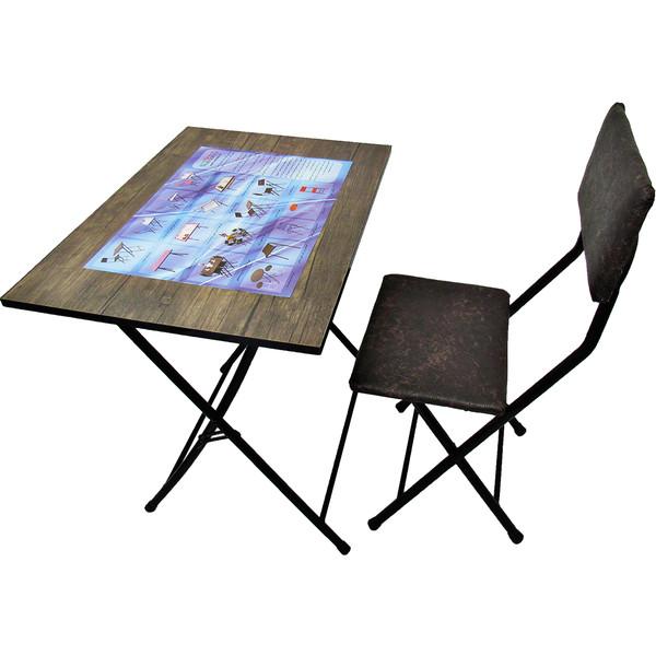 میز تحریر و صندلی مدل رنگی (ضدخش،تاشو،تنظیم شونده ارتفاع)