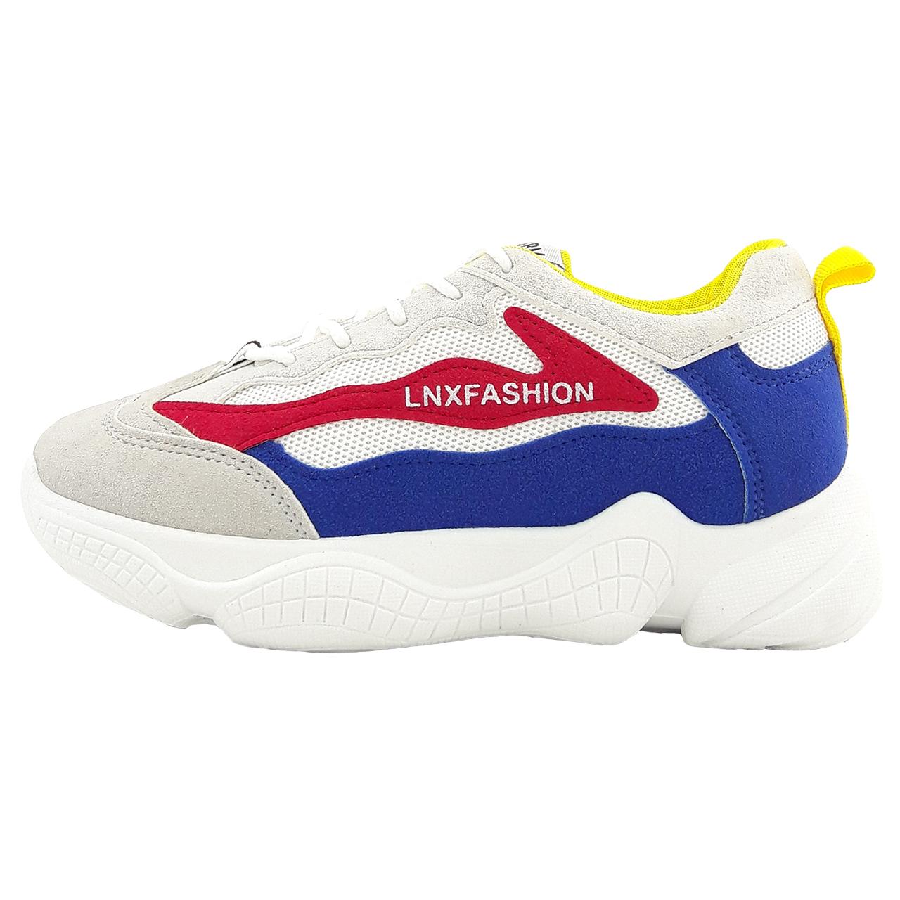 کفش راحتی زنانه فشن مدل Lxn rd.bl.gry01